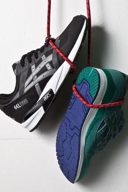 BAIT x ASICS 2012    #style #fashion #shoes #sneakers #kicks #asics