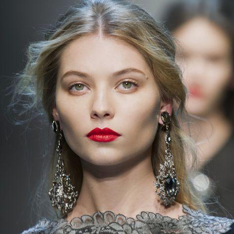 Tendances maquillage automne-hiver 2013-2014: les nuances de rouge
