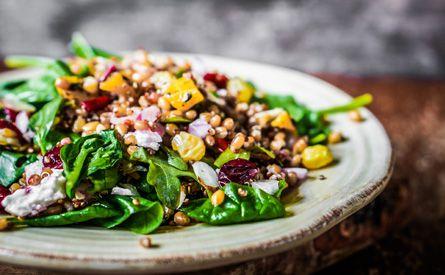 Salada de Romã e Quinoa - Föld