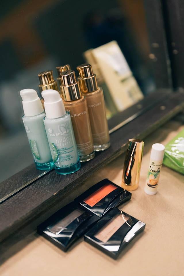 #mango #yvesrocher #makeup #fashionshow #backstage #eyeshadow