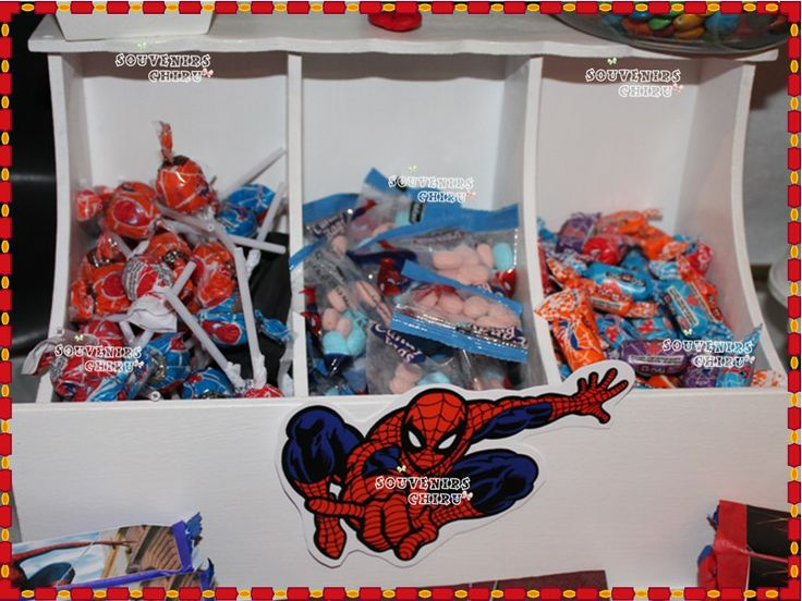 Decoracion Kiosco Golosinas ~ 1000+ images about Candy Bar Spiderman on Pinterest  Mesas, Spiderman