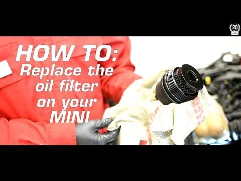 How to change the oil filter on a MINI Cooper. DIY Tutorial!