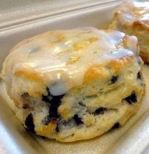 Recipe for Blueberry Biscuits