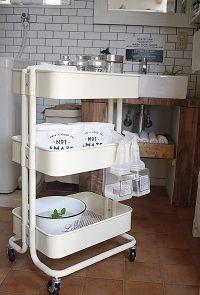 IKEAの定番!大人気キッチンワゴンの使い方3選!|くらし|フフルルマガジン