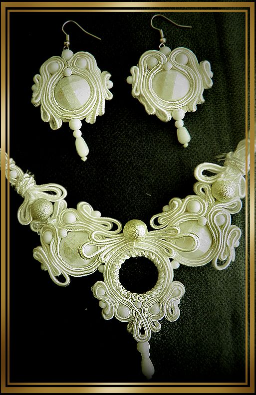 soutache handmaid jewelry by caricatalia.deviantart.com on @DeviantArt