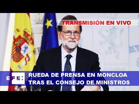 Rueda de Prensa en el Palacio de la Moncloa tras el Consejo de Ministros https://www.youtube.com/watch?v=WFelQhqQppo