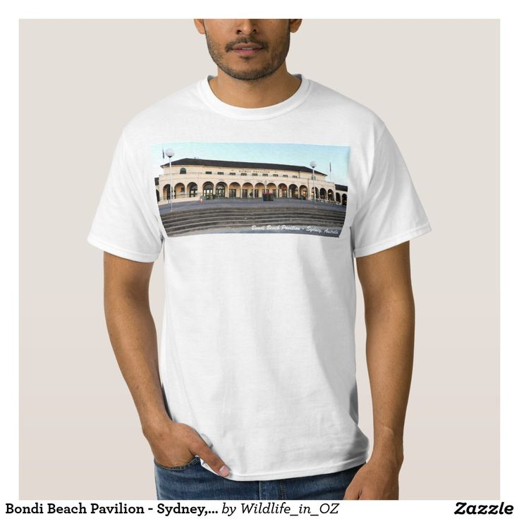 Bondi Beach Pavilion - Sydney, Australia Shirt - Bondi Beach Australiana - Click on photo to view item then click on item to see how to purchase that item. #bondibeach #bondi #iconicbeach #sydney #australia #surf #sunrise #sand #surf
