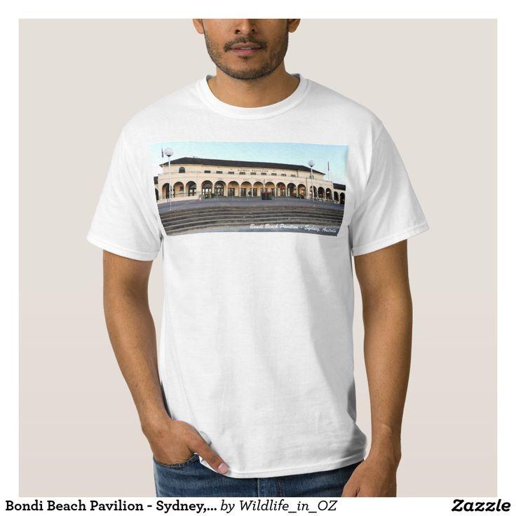 Bondi Beach Pavilion - Sydney, Australia Shirt - Bondi Beach Australiana - Click on photo to view item then click on item to see how to purchase that item. #bondibeach #bondi #iconicbeach #sydney #australia #surf #sunrise #sand #surf