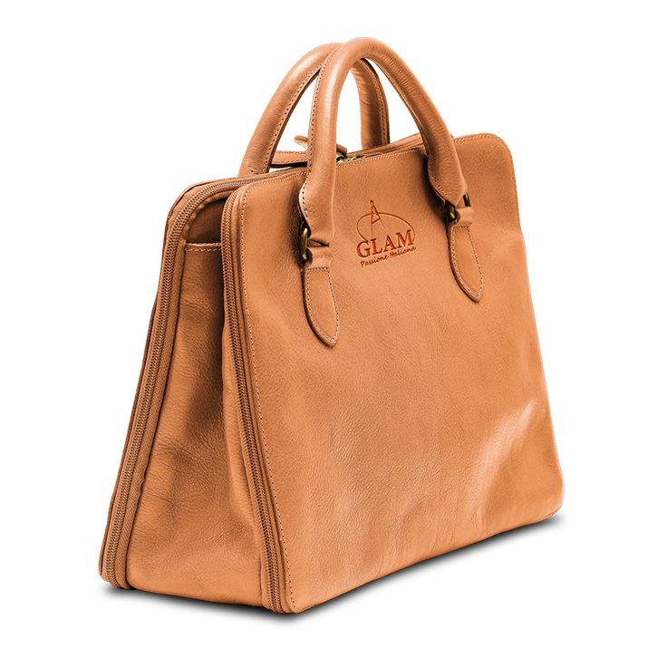 Shoulder handbag tan
