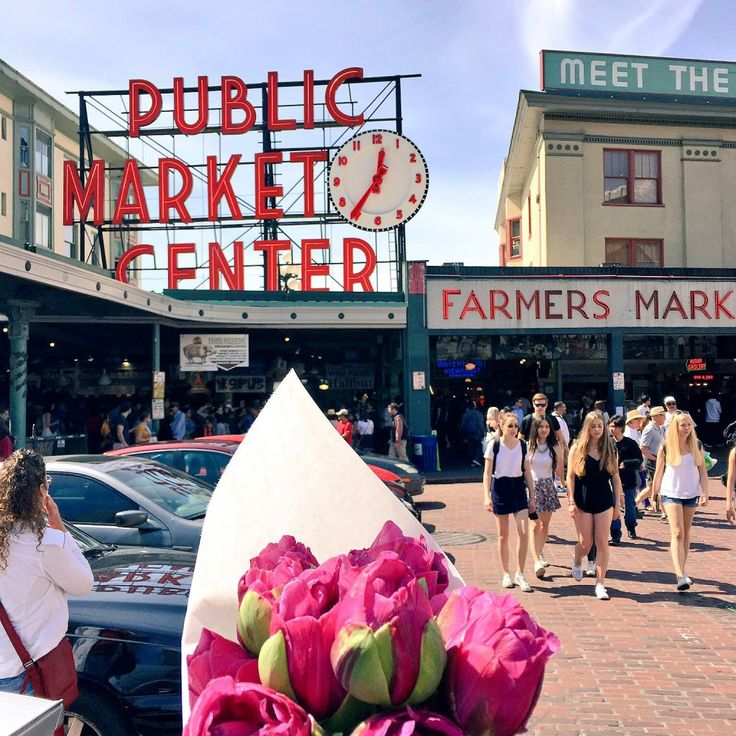 Can't wait to pick out flowers at Pike Place Market, Seattle, WA #DayDate