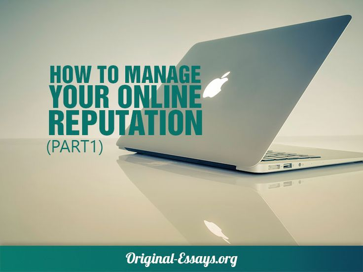 How To Manage Your Online Reputation (part 1) Most of the time social media accounts aren't used with the understanding that a prospective employer may consider them during the hiring process. However, checking social accounts of applicants is becoming a regular procedure for HR managers. Doing this gives employers a more comprehensive picture of a person and sometimes uncovers much more information than the resume or other official documents. Depending on what admission officers or employers s