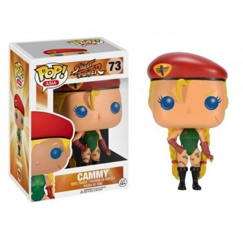 Funko Cammy (First to Market), Street Fighter, Pop! Asia, SF, Games, Funkomania