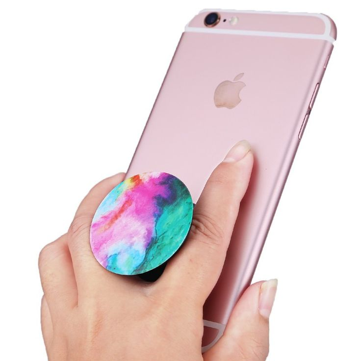 2016 Popsocket Phone Holder with Hook Expanding Stand and Grip Pop Socket Mount with Hook