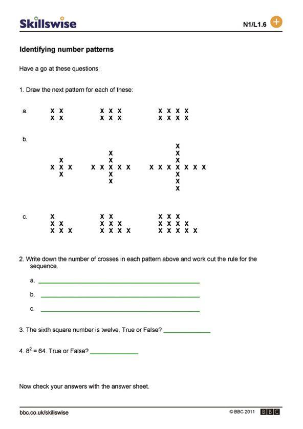Image Result For Sequence Patterns Worksheet Pattern Worksheet