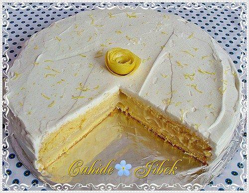 Limon kokulu pasta