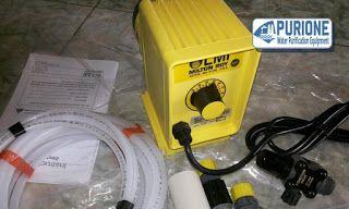 Dosing Pump LMI Milton Roy P063-368TI adalah pompa dosing kimia yang digunakan untuk kapasitas 7,6 liter per jam pada tekanan kerja hingga 3,5 bar - http://www.purione.com/2017/04/dosing-pump-lmi-milton-roy-p063-368ti.html