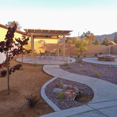 Small Modern Garden Design Layout