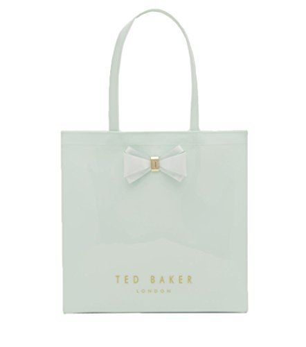 New Trending Shopper Bags: Ted Baker London ALACON Shopper Tote Bag (Light Green). Ted Baker London ALACON Shopper Tote Bag (Light Green)   Special Offer: $59.00      388 Reviews Shop in style with the ALACON Shopper Tote from Ted Baker. This signature tote from the Accessories Collection features a high shine patent finish and bow trim, adding a touch of class wherever...