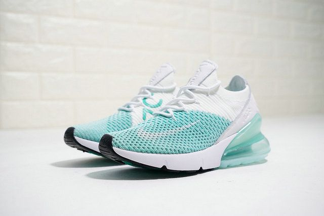 Exactitud este Lo siento  Nike Wos W Air Max 270 Flyknit Teal Green White Trainer Ah6803 301 trainner  Shoe | Nike air max, Nike shoes air max, Nike