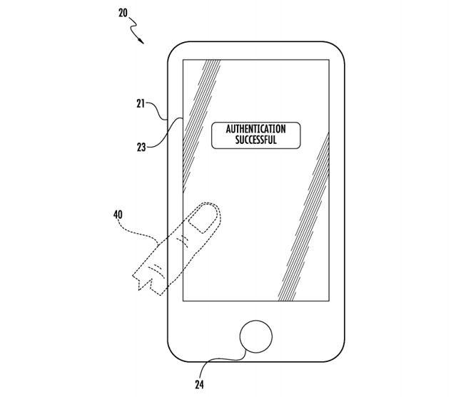 Apple a Obținut un Brevet pentru Un Cititor de Amprente folosind întreg Ecranul iPhone-ului