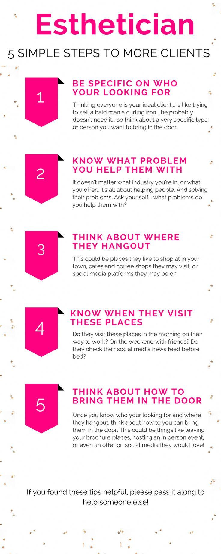 Esthetician Tips Social Media Post Ideas For Estheticians