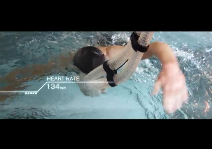 GSK HPL Iconic Brownlee - British triathlete Jonathan Brownlee with K4b2 and Aquatrainer