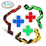 Review for Magic Snake Cube Twist Puzzle Collection of 6 Fun Snake Toys Kids Magic Sets for... - Anne Smith  - Blog Booster