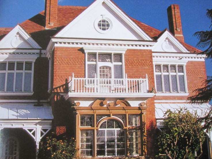 """Sydney, built in 1885, """"Caerleon"""" is the first Queen Anne style house in Australia."""