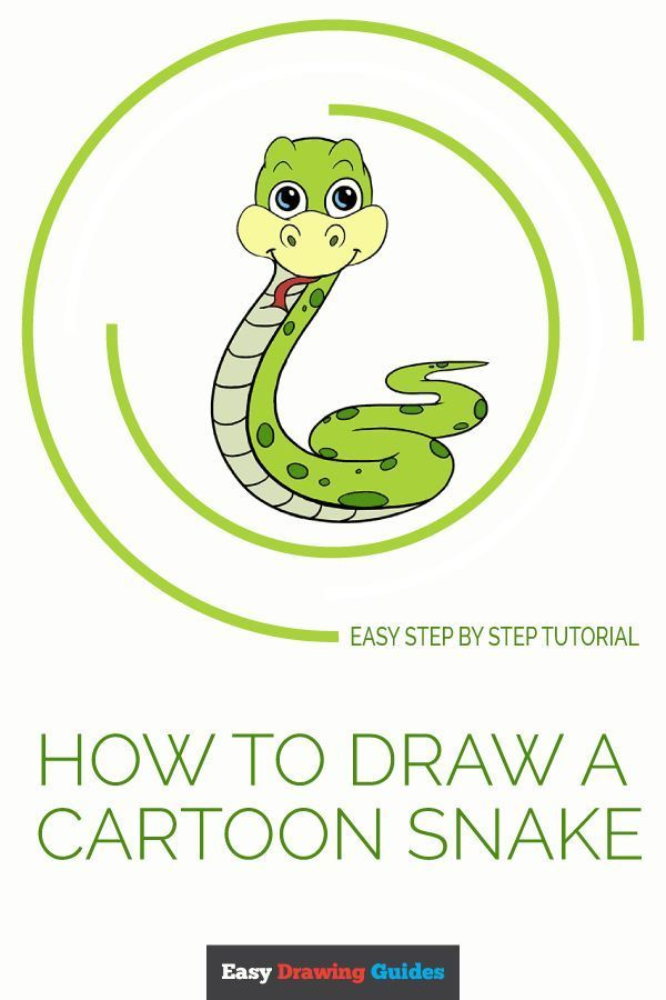 How To Draw A Cartoon Snake Easy Step By Step Drawing Guides Guided Drawing Drawing Tutorial Easy Easy Drawing Steps