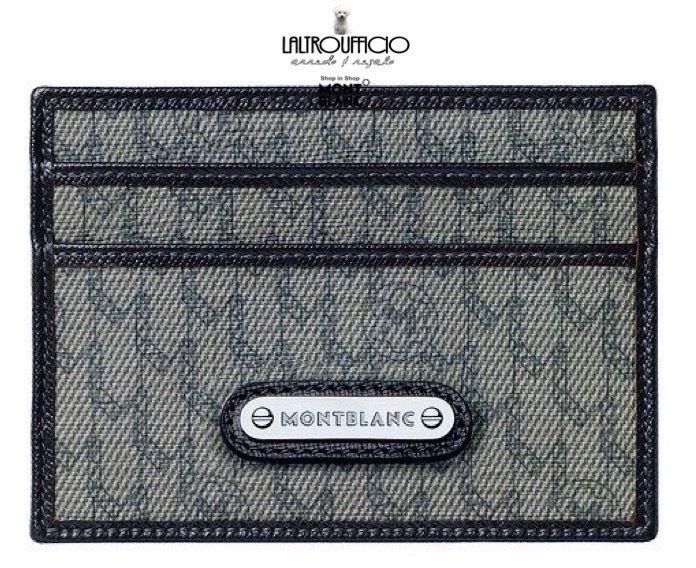 107784 PORTACARTE DI CREDITO MONTBLANC SIGNATURE STONE