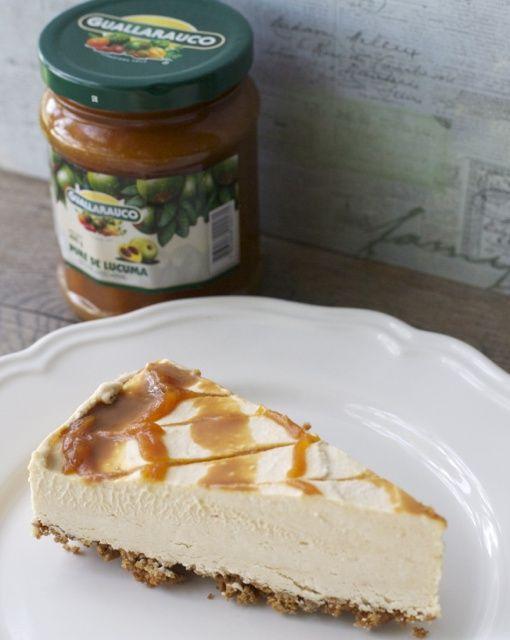 Torta helada de lúcuma   En mi cocina hoy