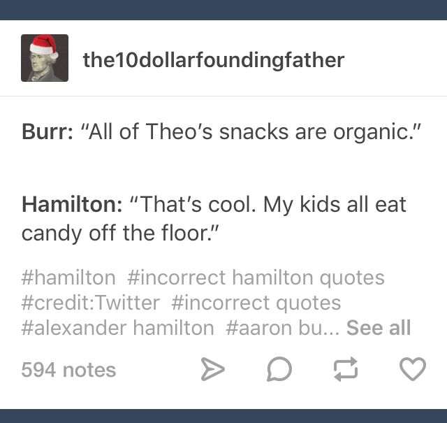 Especially Philip. Philip loves candy from the floor.