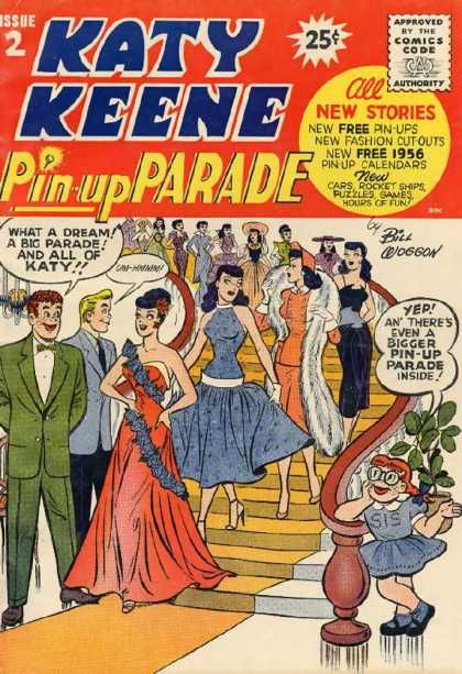 Image detail for -Katy Keene Pin Up Parade A1 Comix Comic Book Database