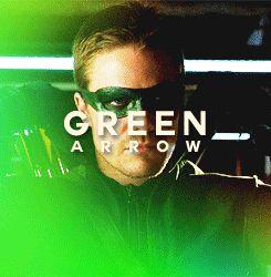 Oliver Queen/Green Arrow (gif)