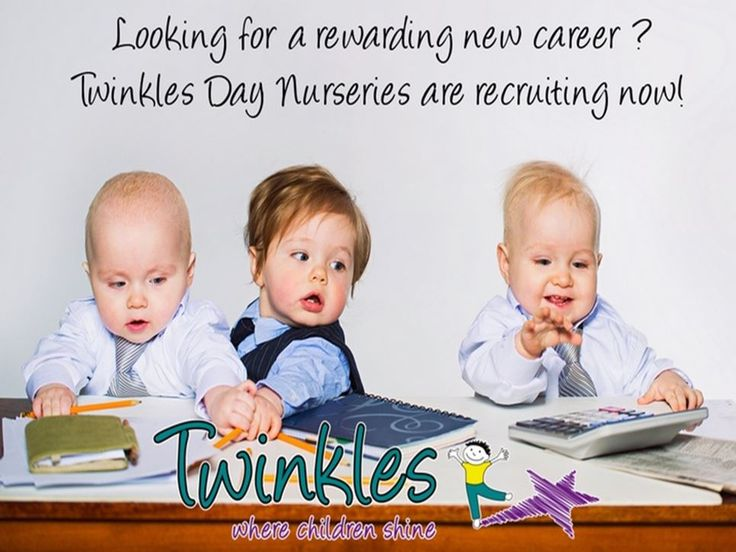 Senior Nursery Nurse, Babies - Twinkles, Boston Spa -  We are looking to recruit a full time experienced Senior Nursery Nurse to work in our baby room. Candidates should have NVQ Level 3 or above and have experience of working with babies. Room leader experience preferred. For more information, or to apply for this role please email emily@twinklesnurseries.com - Posted April 2015