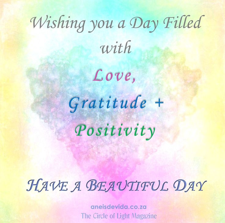 Wishes for your day.  http://aneisdevida.co.za