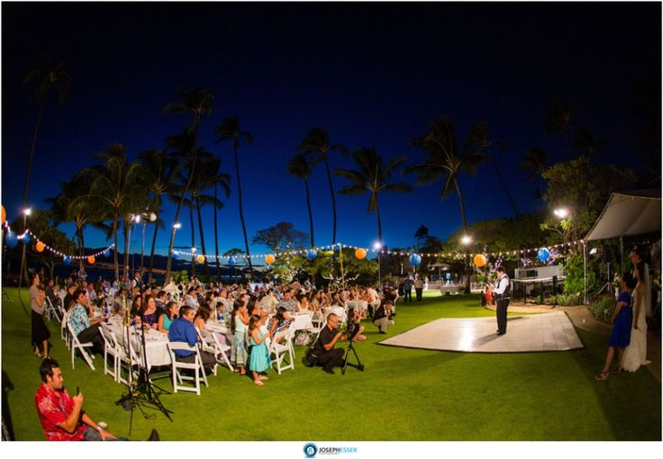 Leahi beach park wedding