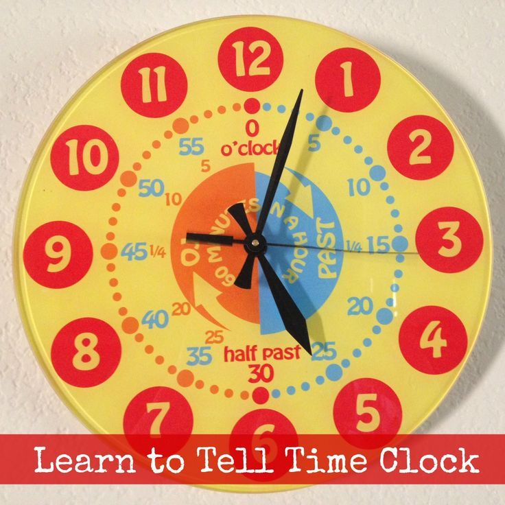 EasyRead Time Teacher - Time Teaching Watches and Clocks