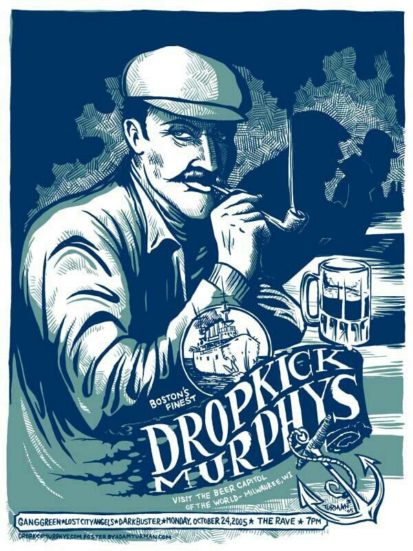 Dropkick Murphys (With images) Band posters