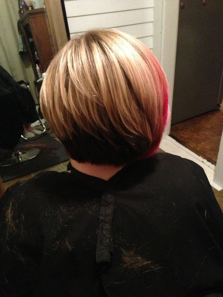 haircuts from the back asymmetrical bob what i do bobs colors 9870