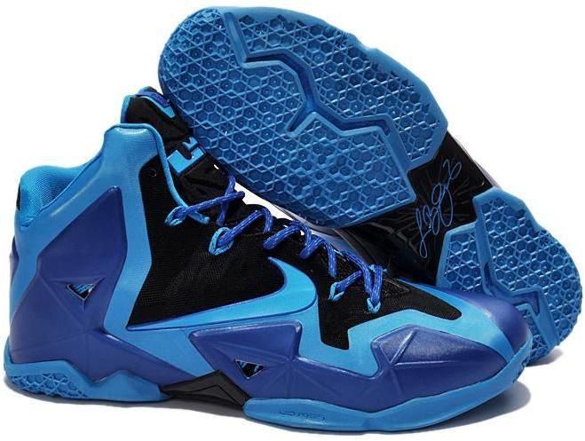 Deep Blue 616175 200 Nike Lebron XI For Wholesale Shoes store sell the cheap  Nike LeBron 11 online, it is high quality Nike LeBron 11 sneakers and we  offer ...