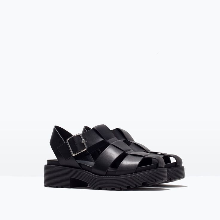 CHUNKY SOLE SANDAL-Trf-Shoes-WOMAN | ZARA United States