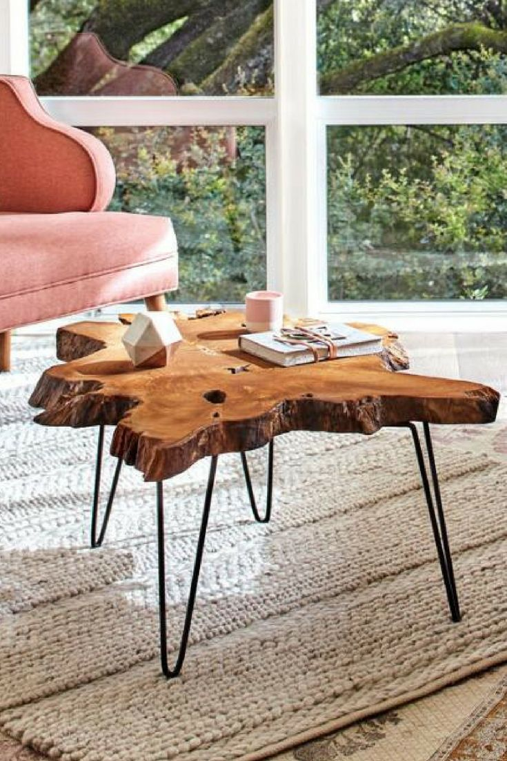 World Market Wood Slice Coffee Table This Is The Perfect Size For Small E Living And Tiny Houses Decor Ideas Es