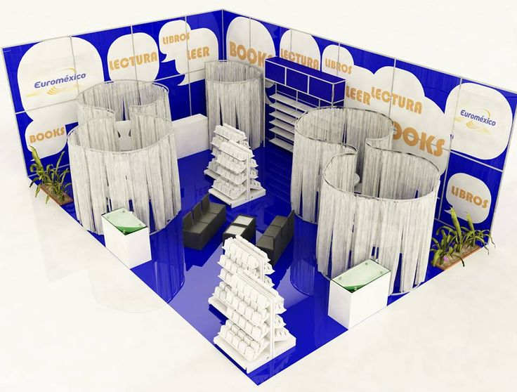 """EuroMexico  Stand de exposicion del tipo """"Sistema Molto"""" para la empresa EuroMexico que se dedica a la creacion de material didactico.  Sito Web: http://www.euromexico.com.mx/"""