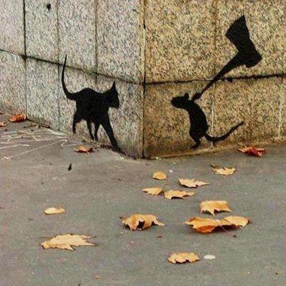 Dirty Monkey :: Street Art