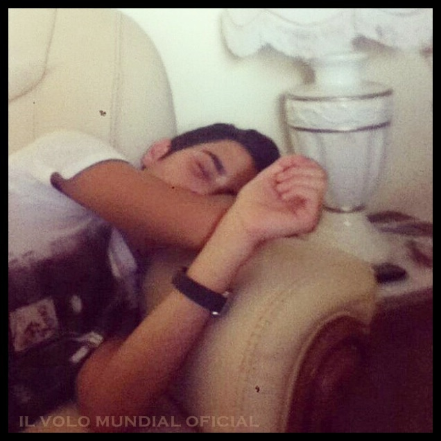 Gianluca Ginoble - Napping!