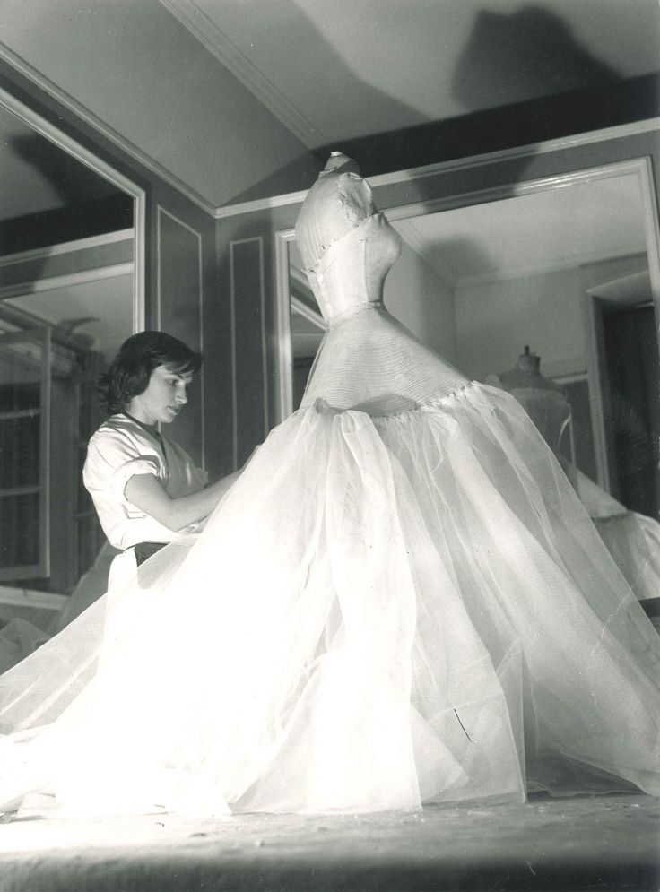 Dior Workshop - vintage wedding dress maker. So gorg.!