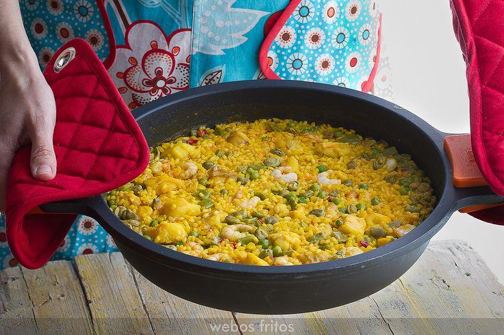 Arroz con rape y gambas, mirar más abajo lista recetas la de arroz con verduras