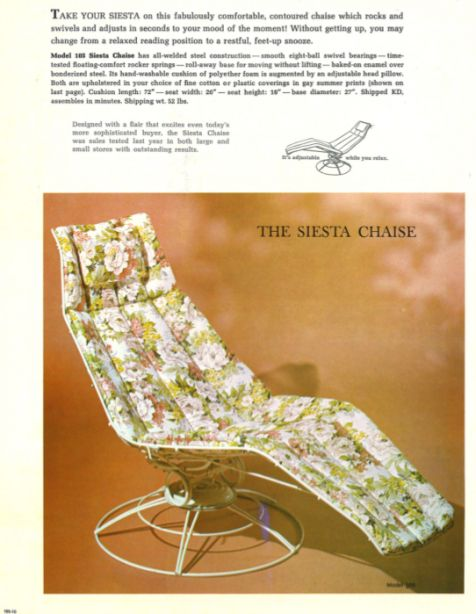 Homecrest Patio Furniture Replacement Slings: 70 Best Images About Vintage Homecrest On Pinterest