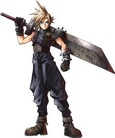 "Cloud Strife.  Ex-member of ""SOLDIER"", a special military unit of the de facto world government - the megacorporation Shinra Electric Power Company - and protagonist of Final Fantasy VII, one of the most popular games ever made.    And I don't feel like writing anymore because I already wrote about Final Fantasy VII under another character's entry.  There you go."